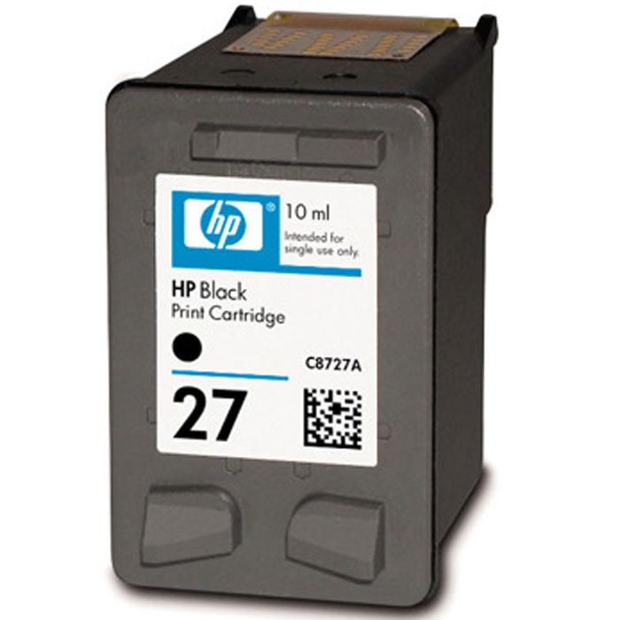 HP C8727AE (27), Black струйный картриджC8727AEОригинальный черный струйный картридж HP C8727AE (27) изготавливается по усовершенствованной технологии