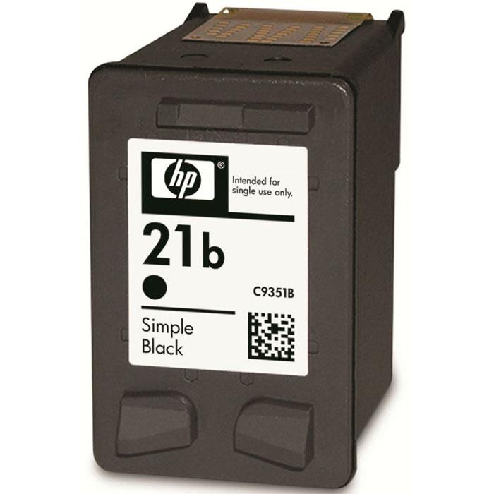 HP C9351BE (21b), Black струйный картриджC9351BEОригинальный картридж HP C9351BE (21b) с умеренной черной цветностью; предназначен для печати текста и не рекомендован для фотопечати и чистовой печати, в отличие от аналогичного картриджа с буквой A в конце обозначения