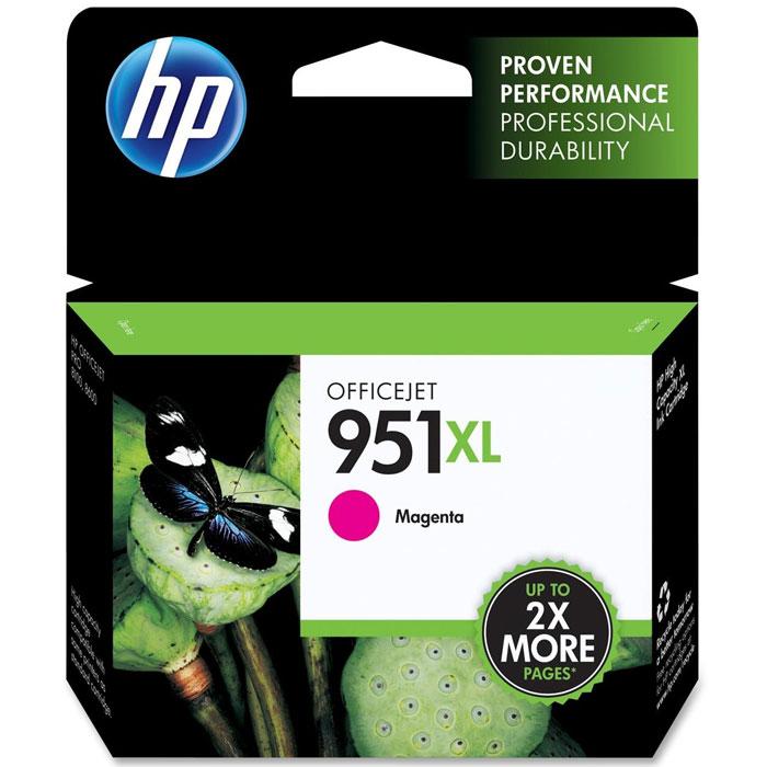 HP CN047AE (951XL), Magenta струйный картриджCN047AEПурпурный картридж HP CN047AE (951XL) обеспечивает высокое качество цветной печати и стабильные