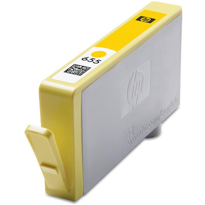 HP CZ112AE (655), Yellow струйный картриджCZ112AEПроизводите высококачественные маркетинговые материалы и фотографии с яркими цветами и четкой графикой