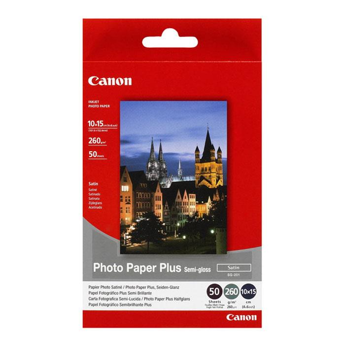 Canon SG-201c 260/50л Photo Paper Semi-Gloss 4x6 (1686B015)1686B015Полуглянцевая фотобумага Canon Photo Paper Plus Semi-gloss с бархатистой поверхностью и текстурой классической фотобумаги. Эта высококачественная бумага с полуглянцевым покрытием позволяет создавать превосходные отпечатки. Продвинутый любитель: Для фотографа-любителя, пользующегося зеркальной цифровой камерой и создающего собственные произведения искусства, идеальным решением для печати будет фотобумага Photo Paper Plus. Благодаря фотобумаге Plus Semi-gloss с более мягким покрытием каждая фотография будет выглядеть великолепно. Мгновенно высыхающие отпечатки: Оригинальная фотобумага Canon имеет микропористое покрытие, удерживающее чернила под поверхностью, чтобы избежать образования излишков чернил на поверхности бумаги. Итог: мгновенно высыхающие отпечатки. Вечные фотографии: Фотобумага Plus Semi-gloss идеально сочетается с чернилами Canon Lucia и ChromaLife100+. Сочетание печатающей головки по технологии FINE,...