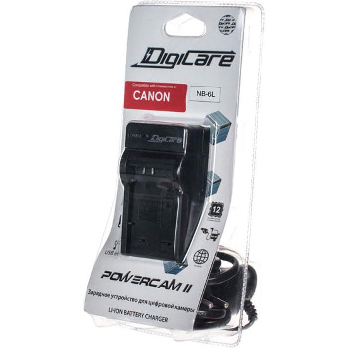 DigiCare Powercam II зарядное устройство для Canon NB-6L зарядное устройство  кабель и адаптер