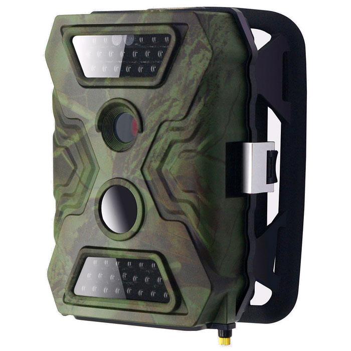 Falcon Eye FE-AC100 фотоловушкаFE-AC100Фото/видео ловушка Falcon Eye FE-AC100 - это камера наблюдения за животными, которая используется для записи изображения при срабатывании датчика движения. Любому охотнику не надо сутками сидеть в засаде, чтобы определить сколько и какие животные пользуются лесной тропой, достаточно установить подобный автоматический регистратор и только проверять содержимое памяти. С помощью FE-AC100 можно определить стоит ли докладывать корм в кормушку и многое другое. Фотоловушка прекрасно справляется со своими задачами и в ночное время с помощью ИК подсветки до 20 метров. На цветном дисплее, размером 2 дюйма, можно просмотреть изображение в качестве 720p. Данная модель работает при температуре -30° до +50°C при влажности 5%-90% и идеально подходит для использования в российских условиях.