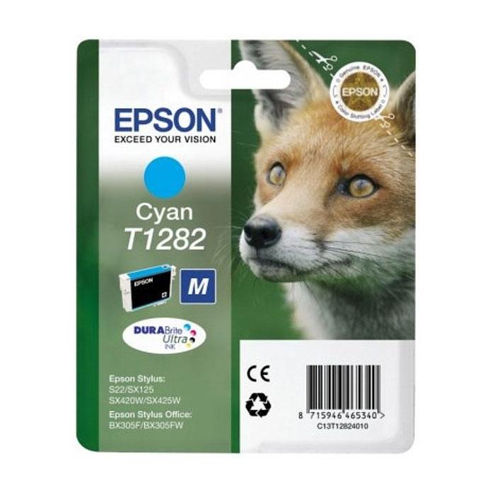 Epson T1282 (C13T12824010), Cyan картридж для S22/SX125/SX425/BX305C13T12824011Картридж Epson с чернилами для струйной печати.