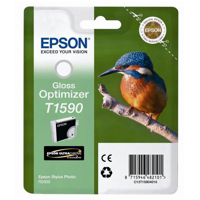 Epson T1590 Gloss Optimizer (C13T15904010) оптимизатор глянца для R2000C13T15904010Оптимизатор глянца Epson для струйных принтеров.