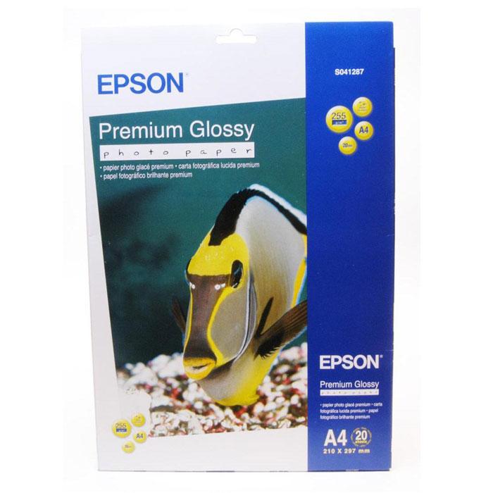Epson Premium Glossy Photo 255/A4/20л, глянцевая C13S041287C13S041287Высококачественный материал Epson Premium Glossy Photo на бумажной основе с глянцевым полимерным покрытием. Предназначен для печати изображений профессионального качества - фотографий, интерьерной графики. Яркость: 97% Прозрачность: 96% Размеры: 210 х 297 мм