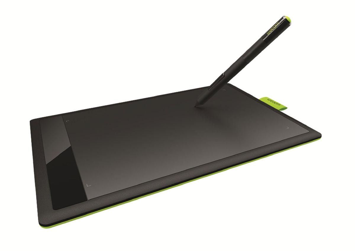 Wacom One Small CTL-471CTL-471Графический планшет One by Wacom Small позволяет воплощать на компьютере потрясающие плоды Вашего воображения точнее, быстрее и легче, чем Вы могли себе представить. Просто подключите планшет с помощью USB-кабеля и установите драйвер. Теперь Вы можете создавать рисунки и эскизы на графическом планшете с помощью чувствительного к нажатию пера – все Ваше творчество сразу сохраняется в цифровой форме. Вы можете видеть то, что делаете, на своем экране и сохранять результаты на своем компьютере. Совет: поместите свое любимое произведение искусства на планшет, прочертите контуры пером, и Ваш цифровой рисунок готов – Вы можете изменять его и смешивать с другими графическими элементами. C помощью пера Вы можете вырезать части своих фотографий, ретушировать их и объединять с частями других фотографий - легче и с большей точностью, чем Вы могли себе представить, создавать аннотации к своим документам и фотографиям, а также подписи к своим электронным...