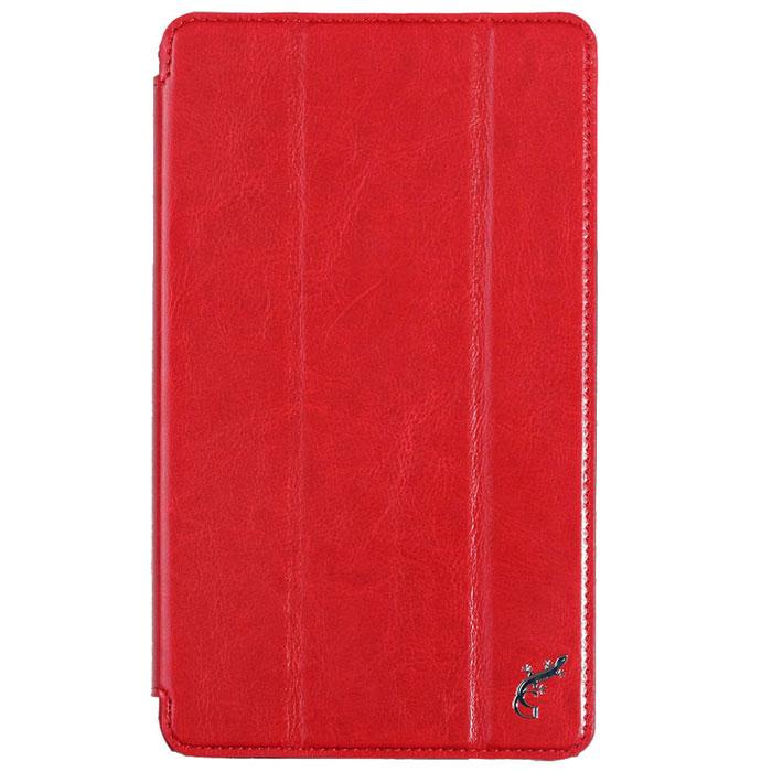 G-Case Slim Premium чехол для Huawei MediaPad M1 8.0, RedGG-465Чехол G-Case Slim Premium для Huawei MediaPad M1 8.0 - это стильный и лаконичный аксессуар, позволяющий сохранить устройство в идеальном состоянии. Надежно удерживая технику, обложка защищает корпус и дисплей от появления царапин, налипания пыли. Имеет свободный доступ ко всем разъемам устройства.