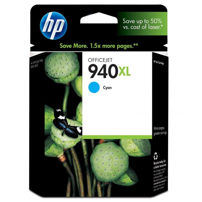 HP C4907AE (940XL), cyanC4907AEКартридж повышенной емкости HP 940XL с чернилами для печати ярких цветных документов. Печатайте текстовые документы на уровне лазерных устройств и четкие изображения, устойчивые к выцветанию в течение многих десятилетий с картриджами HP. Доверьтесь надежной работе оригинальных картриджей HP. Каждый оригинальный картридж НР является принципиально новым и гарантирует великолепное качество печати. Совместимые типы чернил: На основе красителя