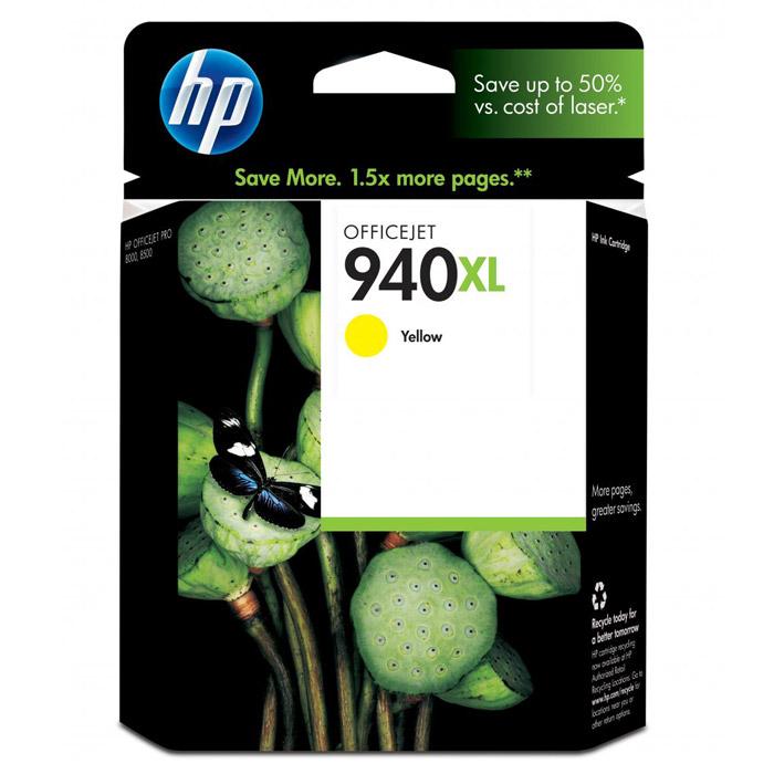 HP C4909AE (940XL), yellowC4909AEКартридж повышенной емкости HP 940XL с чернилами для печати ярких цветных документов. Печатайте текстовые документы на уровне лазерных устройств и четкие изображения, устойчивые к выцветанию в течение многих десятилетий с картриджами HP. Доверьтесь надежной работе оригинальных картриджей HP. Каждый оригинальный картридж НР является принципиально новым и гарантирует великолепное качество печати.