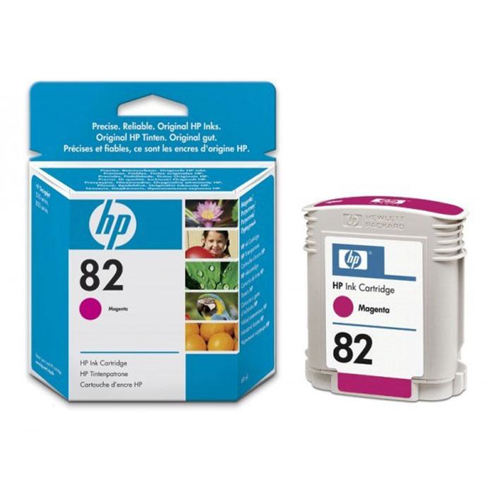 HP C4912A (82), magentaC4912AКартридж HP C4912A с чернилами для печати ярких цветных документов.