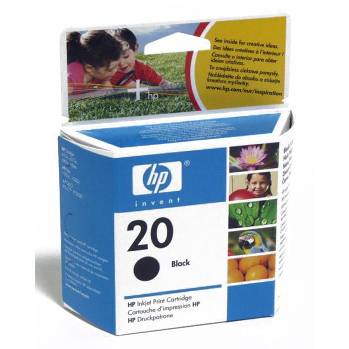 HP C6614DE (20), blackC6614DEКартридж C6614DE с черными чернилами для струйных принтеров.