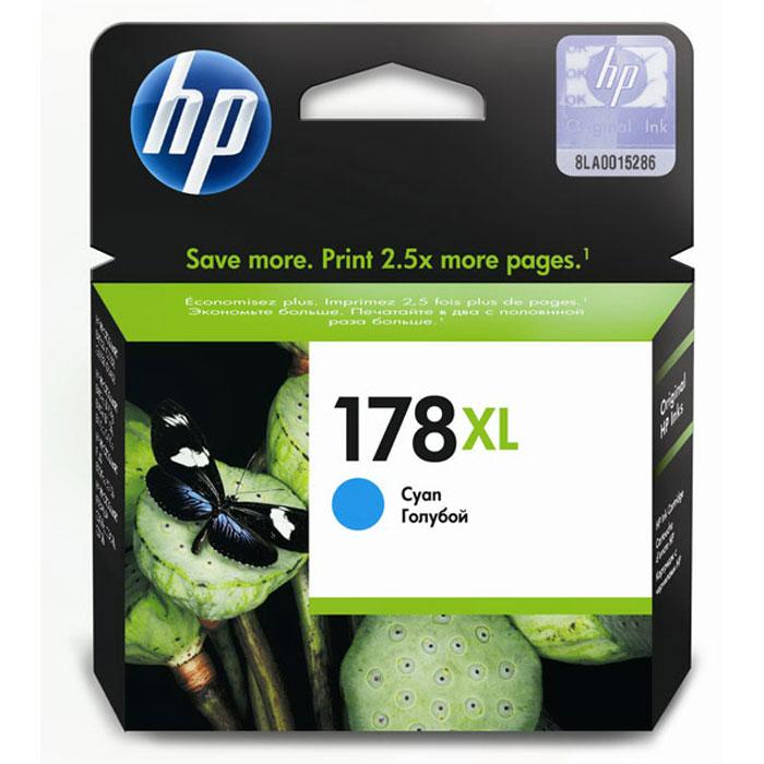 HP CB323HE (178 XL) Photo, cyanCB323HEКартридж повышенной емкости HP 178 XL для струйных принтеров HP Photosmart.