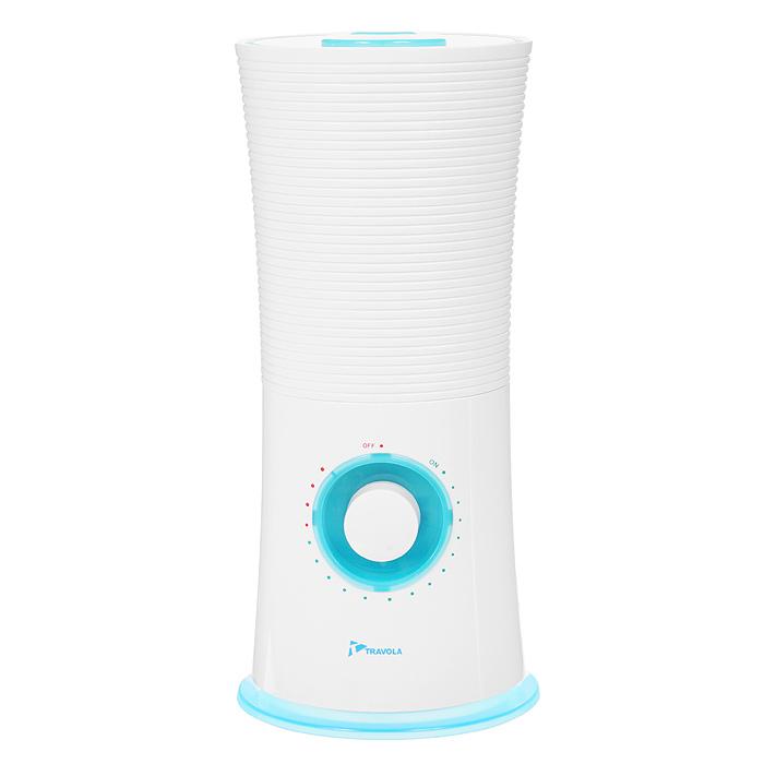 Travola GO-2828, увлажнитель-ароматизатор воздуха, белый, бирюзовый