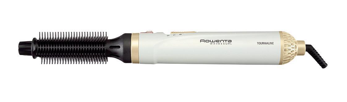 Фен-щетка Rowenta CF3910CF3910С фен-щеткой Rowenta CF 3910 Вы сможете одновременно высушивать и укладывать волосы! Эта модель мощностью в 300 Вт станет вашим незаменимым помощником в создании собственного стиля и позволит существенно экономить время! Фен-щетка оснащена 2-мя режимами работы, различающимися температурой и скоростью подачи воздуха. Таким образом, Вы сможете настроить наиболее оптимальный режим сушки в зависимости от типа и состояния ваших волос! В комплект Rowenta CF3910 входит две насадки-щетки различного диаметра с турмалиновым покрытием. Насадка 25 мм отлично подойдет для объемных укладок, а щетка 21 мм позволит Вам создавать эффектные локоны. Вы сможете экспериментировать со своим стилем, создавая самые невероятные прически!