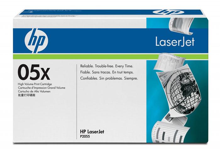 HP CE505X (05X), blackCE505XКартридж HP CE505X с