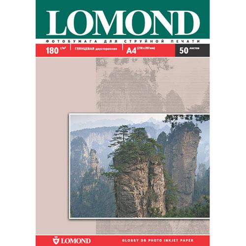 Lomond Photo 180/A4/50л двустороняя глянцевая/глянцевая