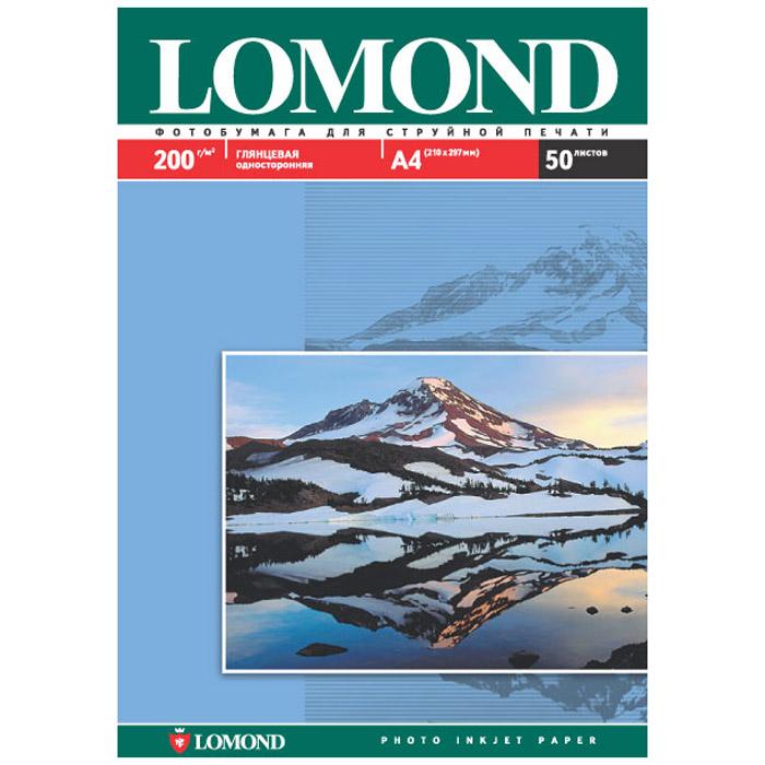 Lomond Photo 200/A3/50л глянцевая односторонняя