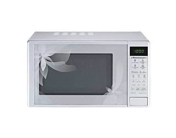 LG MH6043DAD СВЧ-печьMH6043DAD32 уникальные программы, позволяющие легко и без усилий приготовить блюда по традиционным рецептам французской, итальянской, восточной и русской кухни. Достаточно лишь заложить необходимые продукты в камеру и выбрать подходящее меню, а печь сама установит оптимальный режим приготовления блюда для придания ему насыщенного и неповторимого вкуса.