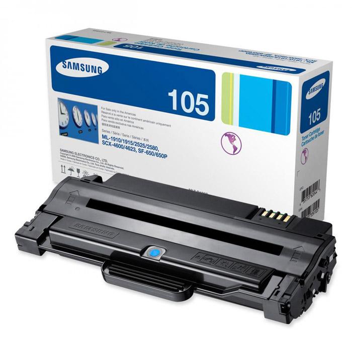 Samsung MLT-D105S тонер-картридж для ML-1910/1950, SCX-4600, SCX-4623F/FNMLT-D105SКартридж Samsung MLT-D105S.