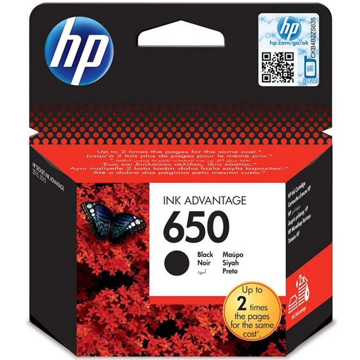 HP CZ101AE, Black струйный картриджCZ101AEПроизводите высококачественные повседневные документы с насыщенным черным текстом, сократив расходы на печать благодаря использованию черных картриджей HP CZ101AE (650). Воспользуйтесь преимуществами премиум-качества HP при новой, меньшей стоимости.