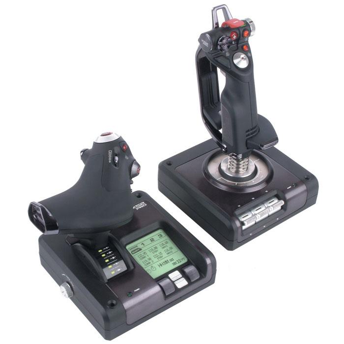 Saitek X52 Pro Flight Control System джойстик + подарок от