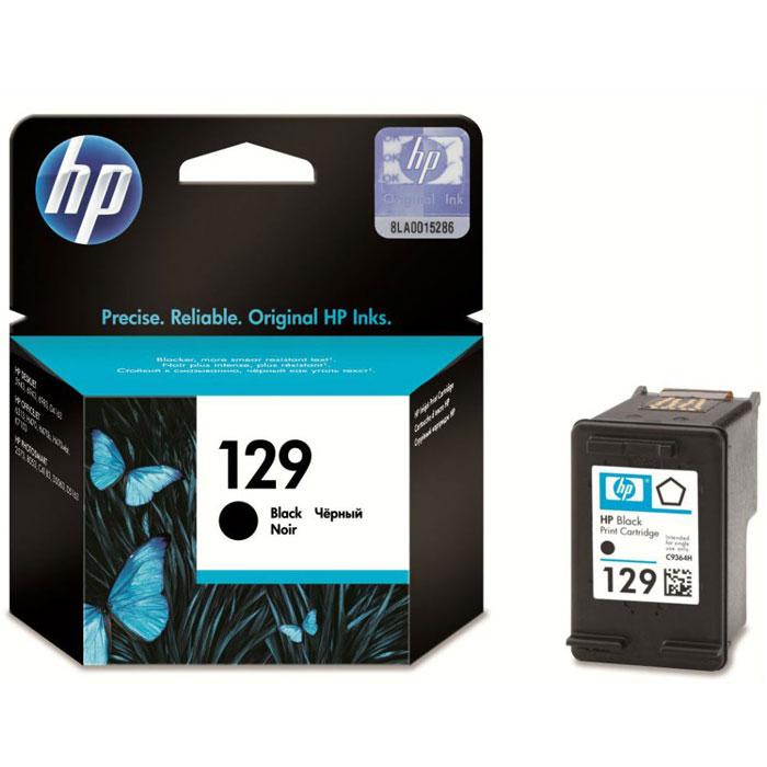HP C9364HE (129), Black струйный картриджC9364HEКартридж HP 129 с черными чернилами Vivera для принтеров HP Photosmart.