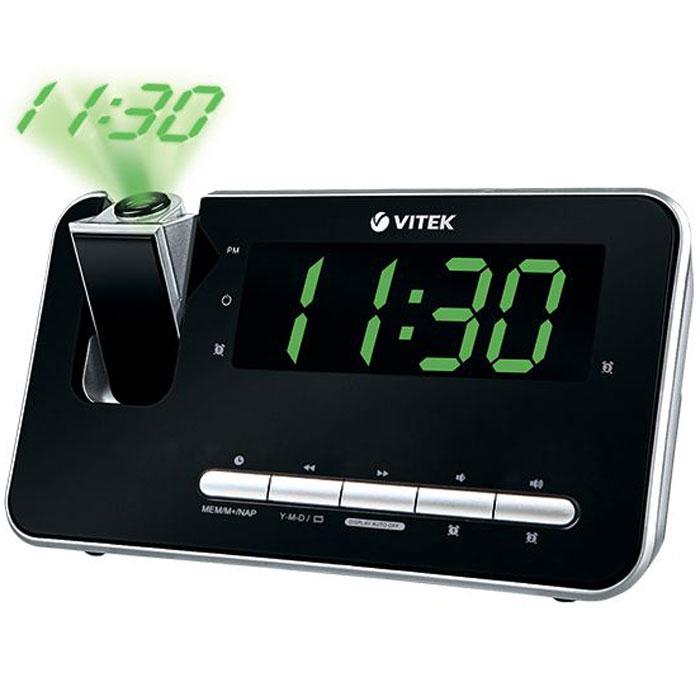 Vitek VT-6605 (BK) радиочасы