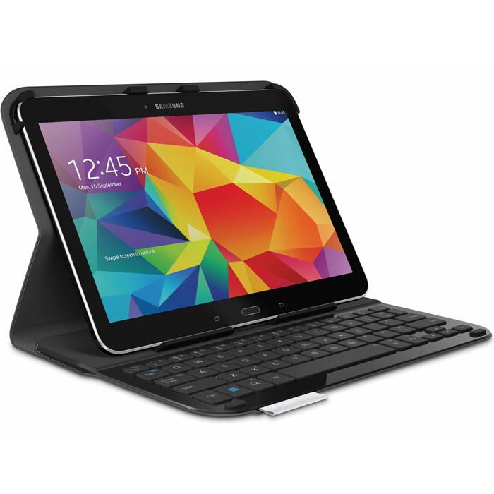 """Logitech UltraThin Keyboard Folio клавиатура-чехол для Samsung Galaxy Tab 4 10.1""""(920-006397)"""