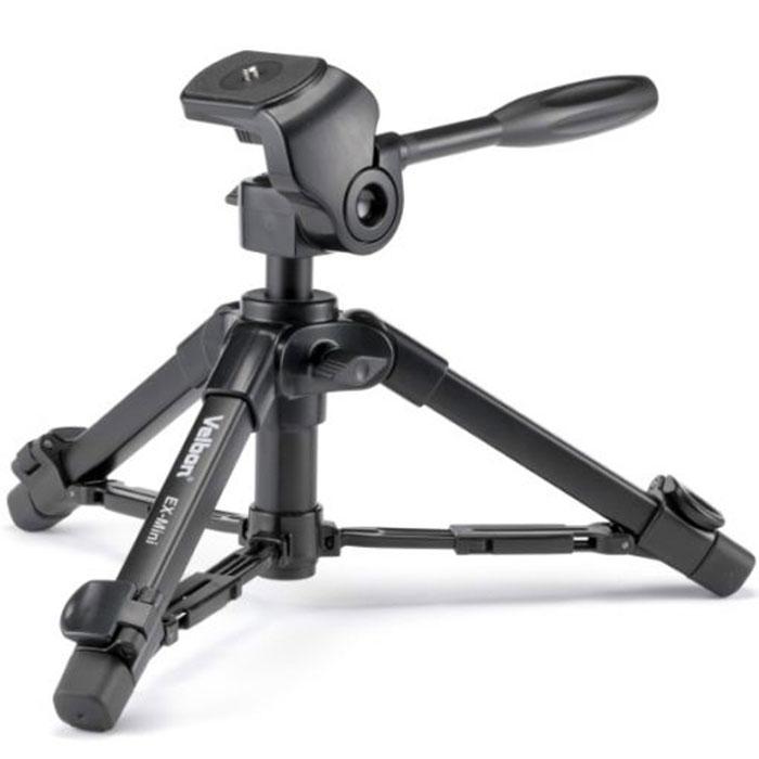 Velbon EX-Mini штативEX-MiniНовое поколение штативов, которые подходят как для начинающих так и продвинутых фотографов. Работая со штативом Velbon EX-Mini вы сможете сделать отличные снимки и набраться опыта в работе с фотографиями. В комплект также входит удобный чехол для переноски.