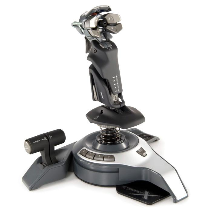 Mad Catz Cyborg F.L.Y.5 Flight Stick джойстик + подарок от