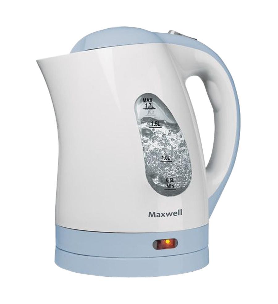 Maxwell MW-1014, BlueMW-1014, BlueНикто не будет спорить, что каждая хозяйка пытается по максимуму автоматизировать каждый сантиметр площади своей кухни. Именно по этому, каждое устройство здесь должно иметь минимальные габаритные размеры при максимальной функциональности. Примером такой комплектации может стать чайник Maxwell MW-1014, который совместил в себе все необходимые функции, чтобы сделать процесс кипячения воды максимально безопасным и быстрым. За это отвечает высокая мощность устройства, а это целых 2,2 кВт. Этого показателя вполне достаточно, чтобы за считанные минуты вскипятить 1,7 литра (максимально допустимый объем кипячения для этой модели). Следить за уровнем можно, используя двустороннюю шкалу, которая располагается по обе стороны устройства. Чайник Maxwell MW-1014 изготовлен из термостойкого пластика, который облегчает саму модель, а также позволяет хранить воду горячей достаточно продолжительное время. В качестве нагревательного элемента в этой модели используется плоское дно (один из видов...