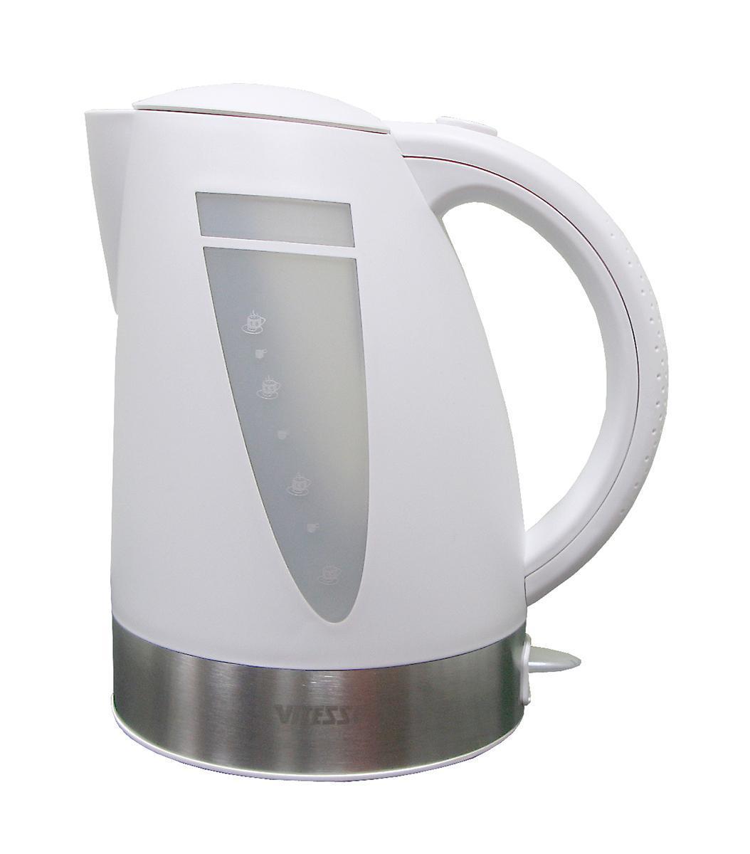 Vitesse VS-129, WhiteVS-129, WhiteБлагодаря электрочайнику Vitesse VS-129 Вам не нужно ждать, пока вода закипит на плите - электрочайник сделает это всего за несколько секунд! Чайники Vitesse – это гарантия качества и безопасности. Французская фирма, которая поставляет посуду и кухонные принадлежности на мировой рынок уже много лет, славится своим высоким качеством продукции, внимательным отношением к потребителю и гарантией безопасности электроприборов, которые имеют прочную сборку и хорошие материалы, поэтому прослужат Вам долго! Vitesse предлагает широкий ассортимент электрочайников с набором разных функций, с различными дизайнами, каждый из которых подойдет под тот или иной стиль кухни.