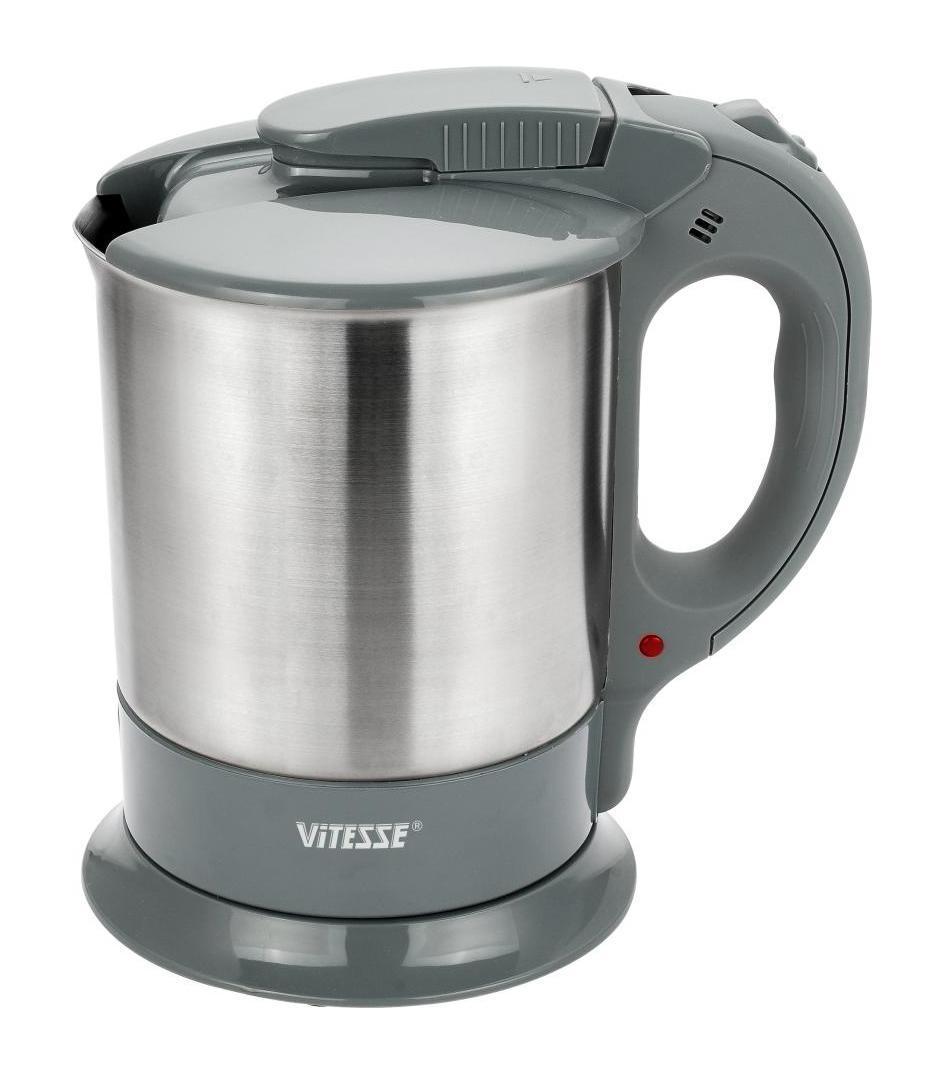 Vitesse VS-104VS-104Благодаря электрочайнику Vitesse VS-104 Вам не нужно ждать, пока вода закипит на плите - электрочайник сделает это всего за несколько секунд! Чайники Vitesse – это гарантия качества и безопасности. Французская фирма, которая поставляет посуду и кухонные принадлежности на мировой рынок уже много лет, славится своим высоким качеством продукции, внимательным отношением к потребителю и гарантией безопасности электроприборов, которые имеют прочную сборку и хорошие материалы, поэтому прослужат Вам долго! Vitesse предлагает широкий ассортимент электрочайников с набором разных функций, с различными дизайнами, каждый из которых подойдет под тот или иной стиль кухни.
