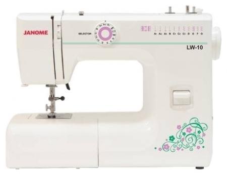 Janome PS-11, White швейная машинаPS-11 (LW-10)Компактная швейная машина начального уровня, идеально подходит для начинающих и любителей шитья. Работает с различными видами тканей.