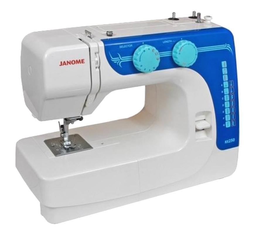 Janome RX 250, White швейная машина