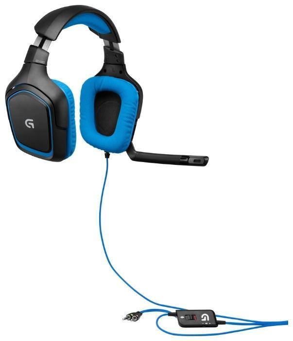 Logitech G430 Gaming Headset (981-000537) проводная игровая гарнитура
