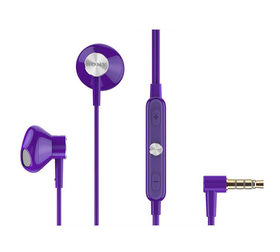 Sony STH30, Violet стерео гарнитураSTH30 Violet стерео