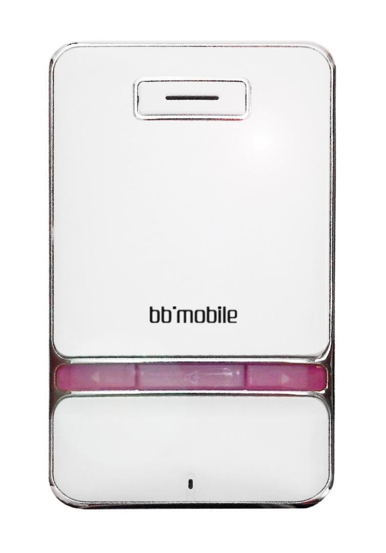 BB-mobile MicrON-3. White Pink беспроводная гарнитура минифон ( MicrON-3. White Pink )