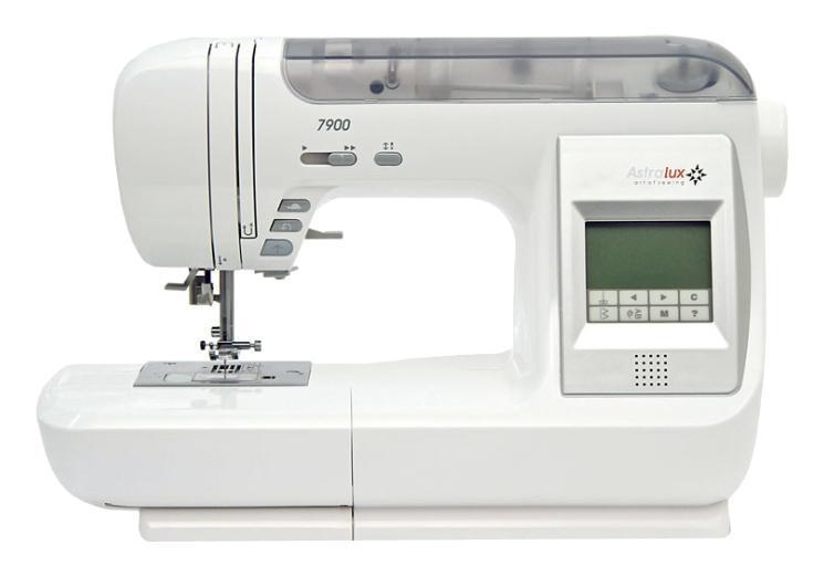 Astralux 7900 швейная машинка