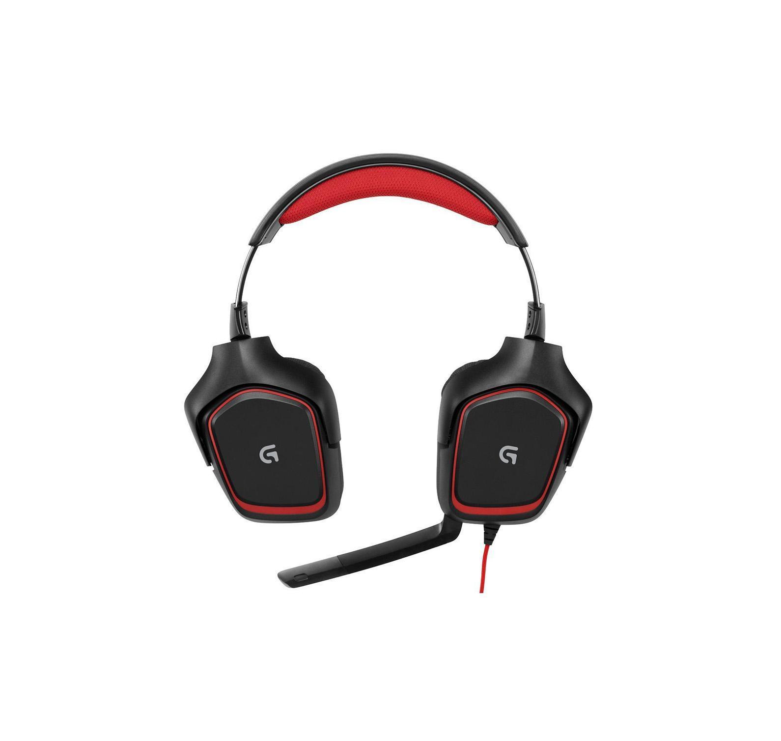 Logitech G230 Gaming Headset (981-000540) проводная игровая гарнитура981-000540Гарнитура Logitech G230 Stereo Gaming Headset с неодимовыми 40-мм динамиками обеспечивает качественный звук и полностью погружает в игру независимо от жанра. Складной микрофон с системой шумоподавления распознаёт голос геймера и отсекает лишние звуки, а пульт управления аудио и кнопка отключения микрофона удобно расположены на кабеле. Стереозвук игрового качества В играх важна не только графика. Звук дополняет изображение. За счет 40-миллиметровых неодимовых диффузоров гарнитура G230 обеспечивает высококачественный стереозвук, позволяющий полностью погрузиться в игру от начала до конца. Падение булавки, взрыв бомбы - услышьте все! Спортивные матерчатые амбушюры Длительные игровые сеансы ассоциируются с жаром и потом. Амбушюры G230 покрыты тщательно подобранным спортивным материалом, чтобы обеспечить ощущение комфорта и мягкости даже при многочасовом использовании. При этом они легко снимаются для мытья, чтобы держать гарнитуру в отличной...