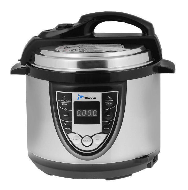 Travola M-507G мультиварка-скороваркаМ-507GTravola М-507G - современная мультиварка с функцией регулировки давления. Станет настоящим помощником в приготовлении мяса, супов и каш. Благодаря функции приготовления на пару Вы готовить здоровую пищу с сохранением витаминов. Диаметр чаши (по верхнему краю): 22 см.