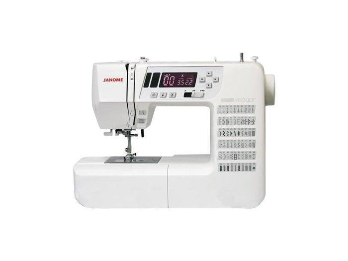 Janome 460 QDC швейная машина460Стильная и компактная швейная машина Janome 460 QDC. Машина оснащена полным набором декоративных и швейных функций. С компьютерной точностью, изготовления любых швейных изделий становится легким и быстрым. Машина понравится, как профессионалам, так и любителям пэчворка и квилтинга.