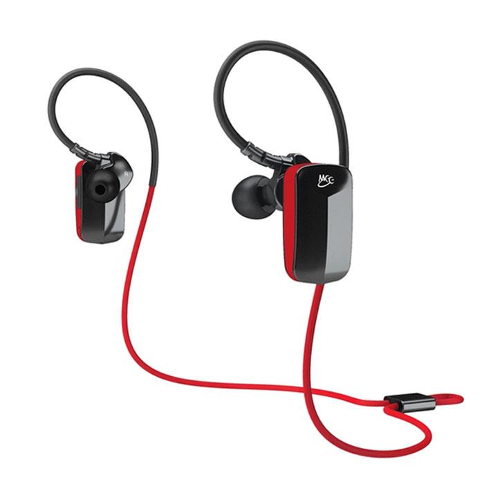 MEElectronics Sport-Fi X6 беспроводная гарнитураX6-RDBKБеспроводная гарнитура MEElectronics Sport-Fi X6 с микрофоном имеет ясный звук с мощными басами. Благодаря встроенному пульту и микрофону вы можете отвечать на телефонные звонки, а также управлять воспроизведением аудиотреков. Данная модель совместима с iPod, iPhone, iPad и MP3-плеерами. В комплект входит 6 пара силиконовых вкладышей для более удобного использования, а также кейс для транспортировки. MEElectronics Sport-Fi X6 оснащены встроенным литий-полимерным аккумулятором. Версия Bluetooth: 3.0 Профили Bluetooth: A2DP, HSP, HFP, AVRCP Степень влагозащищенности: IPX4 Время зарядки аккумулятора: 3 часа