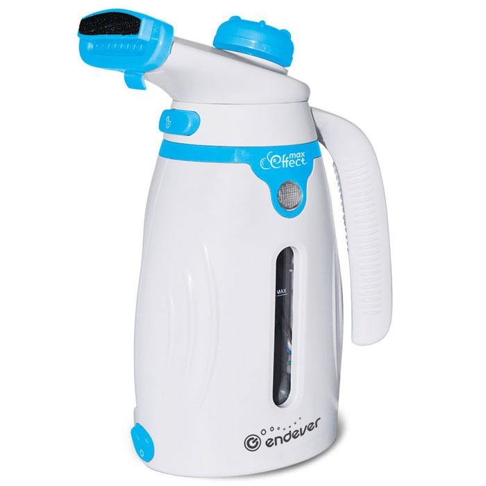 Endever Odyssey Q-419, Blue White отпаривательQ-419Отпариватель Endever Odyssey Q-419 предназначен для отпаривания одежды, очистки, дезинфекции вещей, различных поверхностей и предметов домашнего обихода. Отличается красивым внешним видом, элегантным дизайном, компактными размерами и удобством в работе. В комплект входят щетка-насадка с длинной щетиной, с мягкой щетиной и мерный стаканчик.