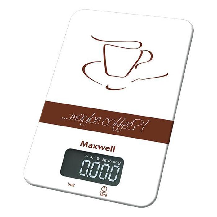 Maxwell MW-1464(BN) весы кухонные