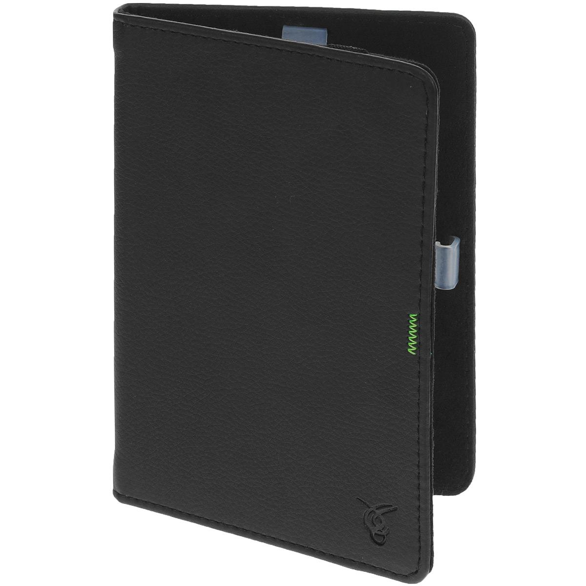 Vivacase GreenLine чехол-обложка для PocketBook 640/626/624/614/623/622, Black (VPB-FP622Bl)