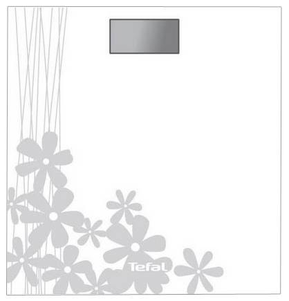 Tefal PP1005 Premiss Flower White напольные весыPP1005Напольные электронные весы Tefal PP1005 Premiss Flower White с ЖК-дисплеем и стеклянной платформой. Удобны для ежедневного контроля веса. Обладают высокой точностью измерения. Оснащены функцией автоматического включения/выключения. Имеют уникальный дизайн и ультратонкую платформу из закаленного стекла.