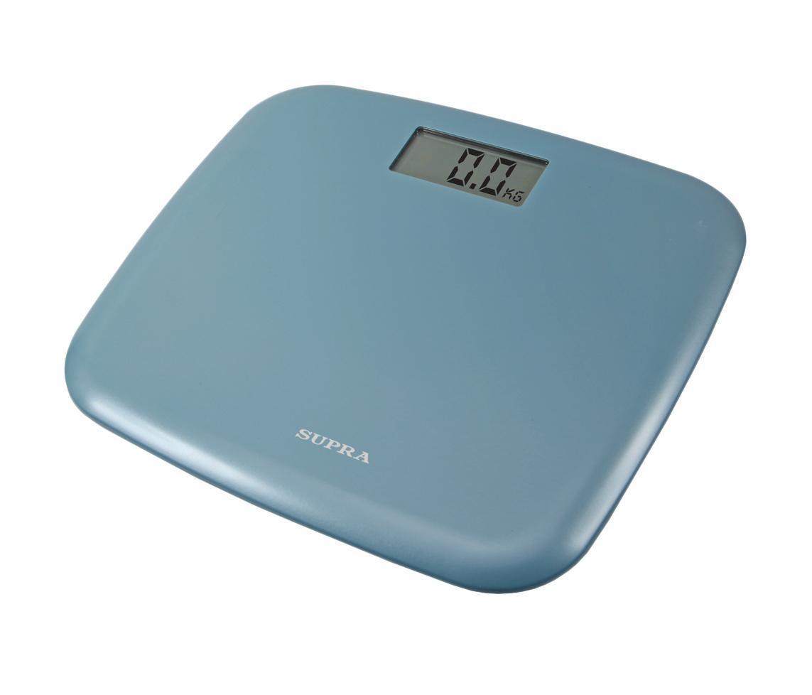 Supra BSS-6050, Blue напольные весыBSS-6050 blueЭлектронные напольные весы Supra BSS-6050 с поверхностью из прочного пластика и функцией автоматического отключения станут неизменным спутником для людей, следящих за своим весом. Дисплей с крупными цифрами сделает использование прибора максимально удобным, а индикация низкого заряда батареи поможет обеспечить своевременный уход.