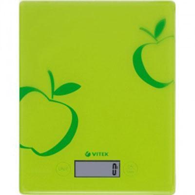 Vitek VT-2400, Green кухонные весы VT-2400 Green